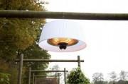 Lustre chauffant 1800 W - Technologie filament : Halogène
