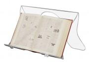 Lutrin de bibliothèque en plexiglas