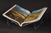 Lutrin exposition couchée pour livre A3 et A4 - Dimensions : (L x H x P) : 46 x 16 x 30 cm