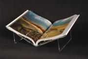 Lutrin exposition couchée pour livre A5 - Dimensions : (L x H x P) : 23 x 11 x 20 cm