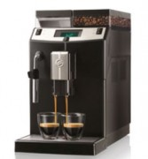 Machine à café automatique avec broyeur  - Préparation simultanée de 2 cafés