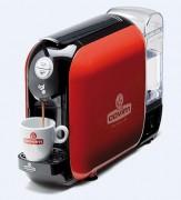 Machine à café pour capsules Presso - Cafetière de couleur rouge pour dosettes