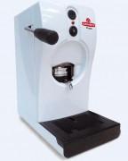 Machine à café pour dosettes ESE - Cafetière blanche avec tube pour Pods papier