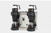 Machine à café professionnelle chauffe-eau à 4 verseuses - Double production -Remplissage automatique