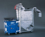 Machine à coussin d'air automatique avec casier - Longueur avec casier : 2420 mm