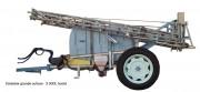 Machine à désherber - Largeur 1m à 1m80 – Pulvérisateur porté ou tracté