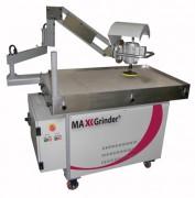 Machine à ébavurer - Moteur  d'abrasion 0,75 kW - 700 t/min - système d'aspiration des poussières intégré