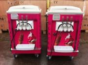Machine à glace italienne de comptoir - 2 parfums et 1 mélange