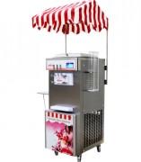 Machine à glace italienne écran tactile - Production : 28 à 38 litres par heure, 330-420 cônes/h