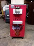 Machine à glace professionnelle 4 parfums - 2 X 200 glaces heure