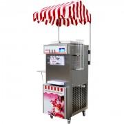 Machine à glace soft italienne - Dimensions : 518 x 760 x 1420 mm