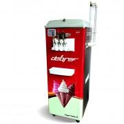 Machine à glace soft italienne sur roulettes - Production : 150/200 glaces par heure