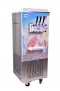 Machine a glace soft mobile - Machine a glace sur roulette et de comptoir