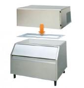 Machine à glaçons pleins modulaire - Production (kg/24h) : 150 - 260 / Bacs de stockage (kg) : 150 - 250