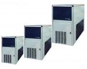 Machine à glaçons profesionnelle - Production : De 23 à 157 Kg / 24h - Puissance absorbée : de 350 à 1050 W