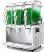 Machine à granité 3 bacs - Capacité : 11 litres - Cuves à double paroie