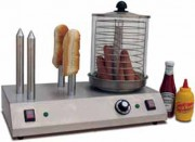 Machine à hot dog 3 ou 4 plots - Plaque de 170 mm - 3 ou 4 plots