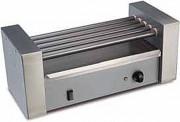 Machine à hot dog professionnelle 5 à 7 barres - Dimensions (L x l x h) : 240 x 500 x 185 mm