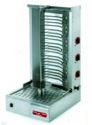 Machine à kebab électrtique professionnelle - 2 / 3 ou 4 zones résistances blindées - 4 roulements à billes