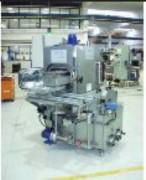 Machine à laver industrielle panier rotatif - Lavage Rinçage Séchage