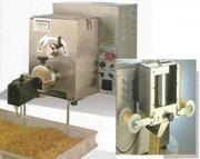 Machine à pâtes Presse 8 kg par heure - Production : 8 kg/h - capacité cuve de pétrissage : 3 kg