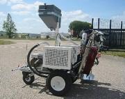 Machine à peindre de traçage routier - À motorisation électrique ou essence