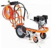 Machine à peinture routière - Largeur de marquage : de 5 à 20 cm - Peinture : Solvant ou à l'eau