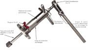 Machine à percer pour canalisations - Pour canalisations fonte, pe, pour l'installation de robinets