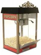 Machine à pop corn avec cage en verre éclairée - Marmite en aluminium - Silencieuse dans son fonctionnement