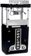 Machine à pop corn avec marmites de double paroi - Dimensions (L x l x h) : 470 x 670 x 355 et 483 x 660 x 355 mm