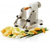 Machine à tourner les légumes inox - Fabrication en inox - Lame réglable 3 positions