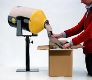Machine calage papier froissé multi postes - 1 bobine = 3 sacs de particule   -   Multi-postes