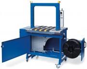 Machine d'emballage automatique à bandes - Jusqu'à 35 cycles par minute avec feuillard du PP de 5 mm