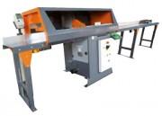 Machine coupe bois, PVC et aluminium - Hauteur de coupe maximale : 90mm   -  Capacité : 92*160mm ou 50*200mm