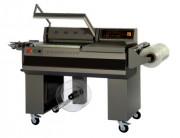 Machine d'emballage industriel sous film - Dimension des produits (L x l x h) mm : min : 50x10x1 - max : 600x330x120