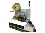 Machine d'impression-pose d'étiquette - Vitesse de dépôt : maxi 50m/min - Impression et pose à la volée en temps réel