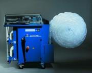 Machine de calage à coussins avec dévidoirs - Largeur : 767 mm