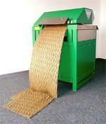 Machine de calage d'emballage - Capacité de production (m³/h) : 3-4
