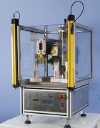 Machine de conditionnement volumétrique - Permet de souder des tubes de longueur variable de 100mm minimum à 230mm maximum