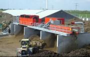 Machine de criblage fixe - une construction de qualité et de robustesse.