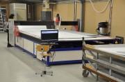 Machine de découpe automatique - Découpe et fraisage - Dimensions table de coupe : 4000 x 2500 mm