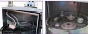 Machine de dégraissage automatique - Charge maximale : 200 kg - Diamètre du plateau : 630 mm