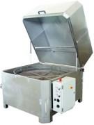 Machine de dégraissage panier tournant en inox - Nouvelle technologie de dégraissage sans solvants