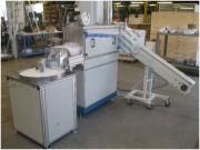 Machine de lavage compacte - Séchage  - Convoyeur d'entrée - Table rotative en sortie