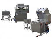 Machine de lavage de pièce de réparation - Lavage de pièces d'une géométrie compliquée