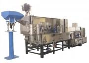 Machine de lavage en continu à vis d'Archimède - Production : de 15 à 360 Litres / heure