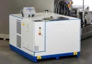 Machine de lavage et dégraissage multisolvent - Carrousel 4 positions - Ebavurage Haute Pression