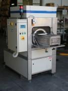 Machine de lavage monochambre - Panier avec rotation sur un axe horizontal