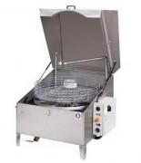 Machine de lavage par aspersion à couvercle - Charge utile du panier : de 70 à 350 kg