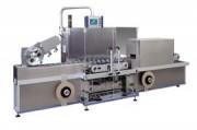 Machine de manchonnage horizontale - Cadence de 60 à 200 pcs/min